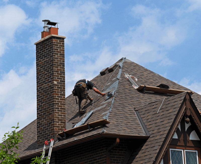 roof repair or replacement damage roof material cost roofers