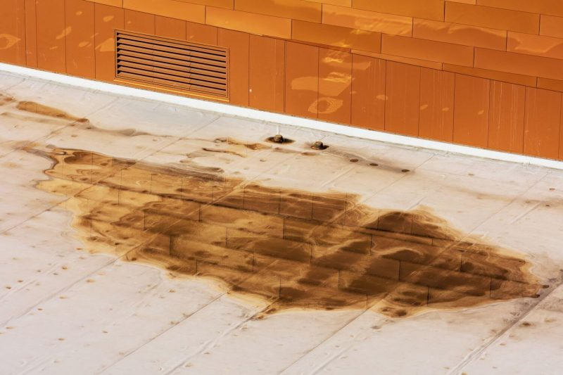 How To Drain Water From A Flat Roof And Prevent It From Happening