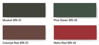Metal Roofing Color Options