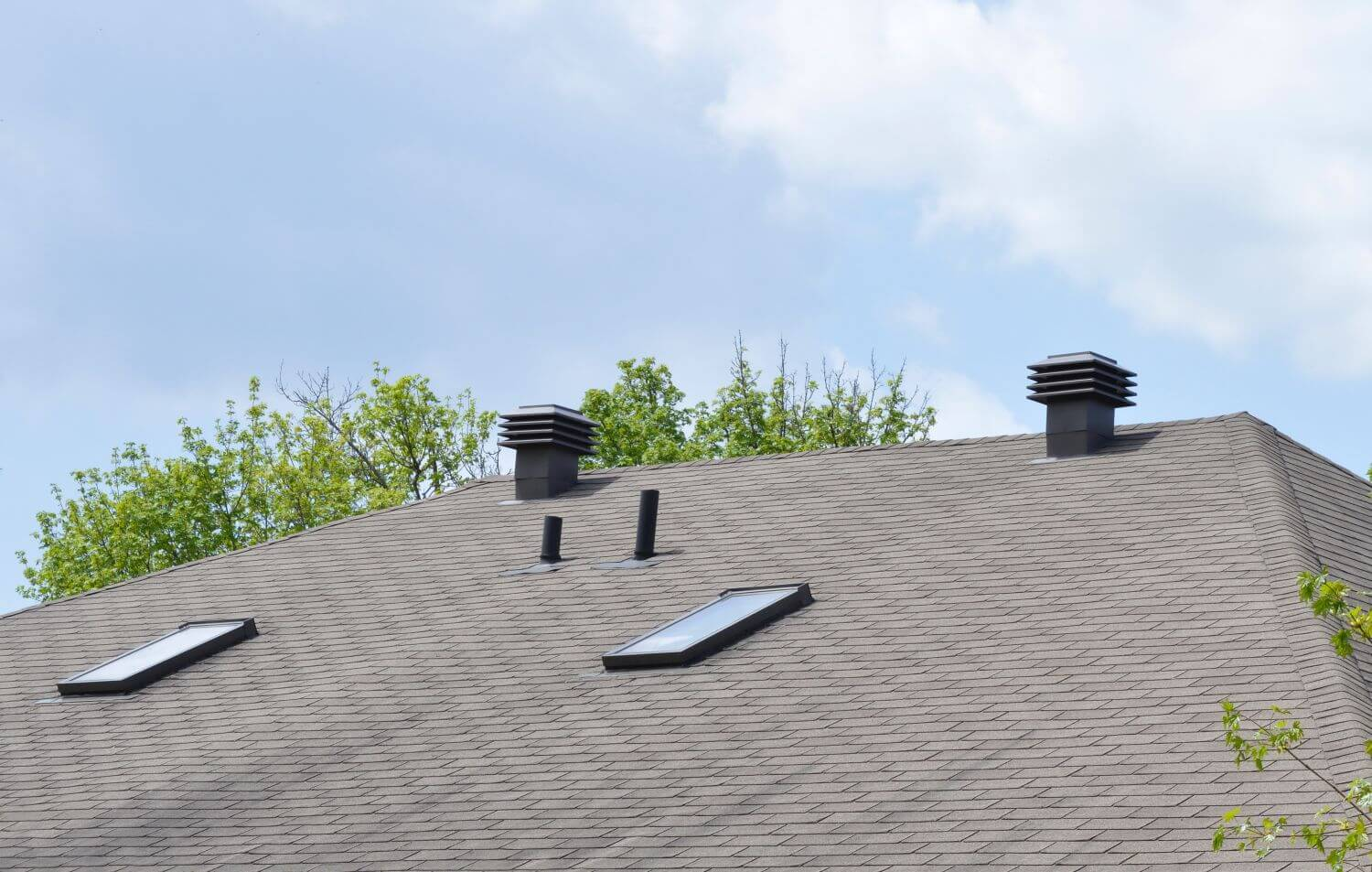 Roof ventilation home maintenance vents system