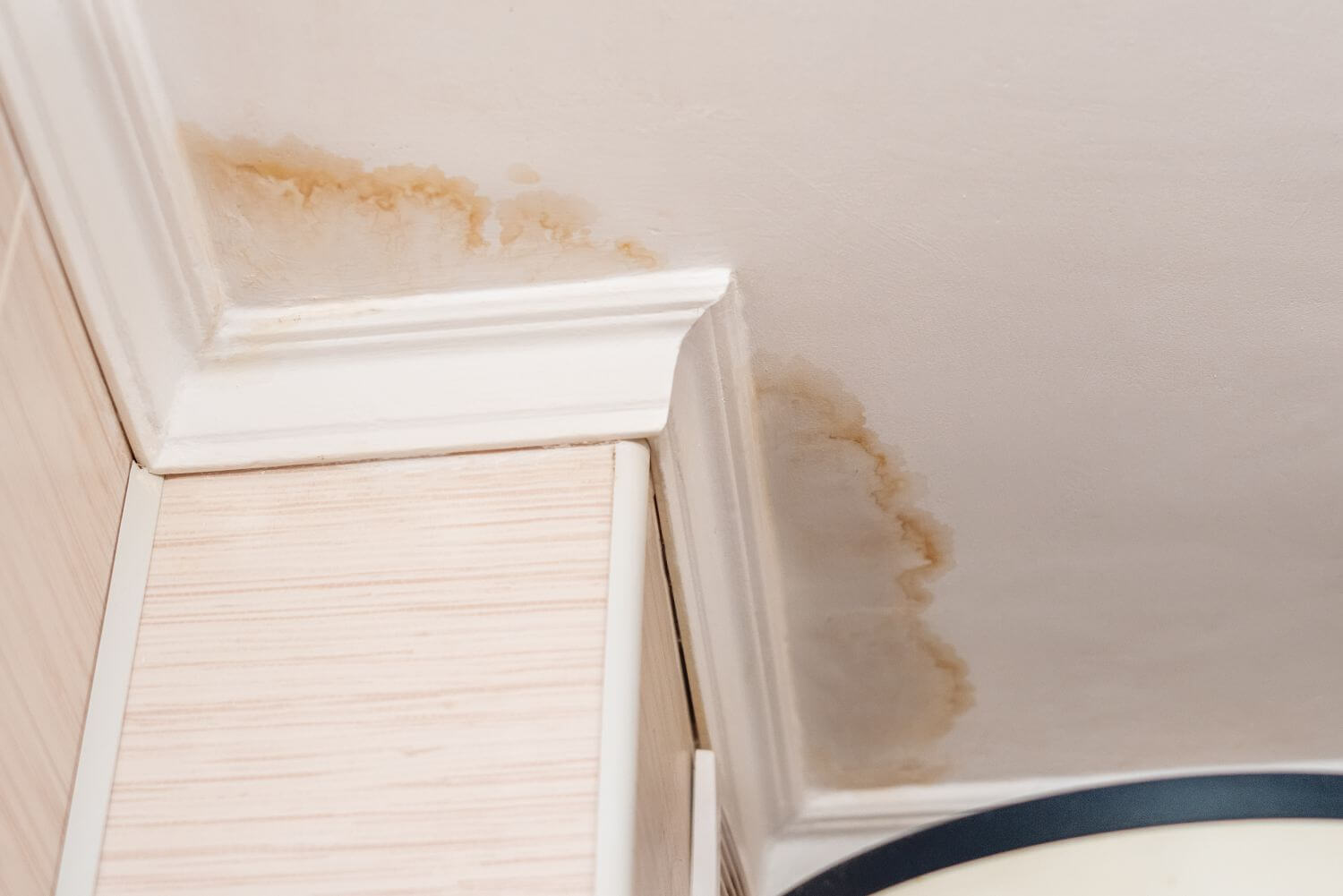 Water Damage to your roof home repair
