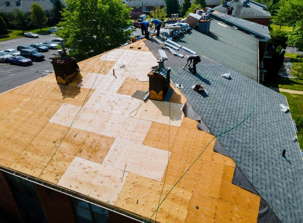 What is Considered a New Roof roof replacement